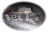 Leterpress Lead Printing Type