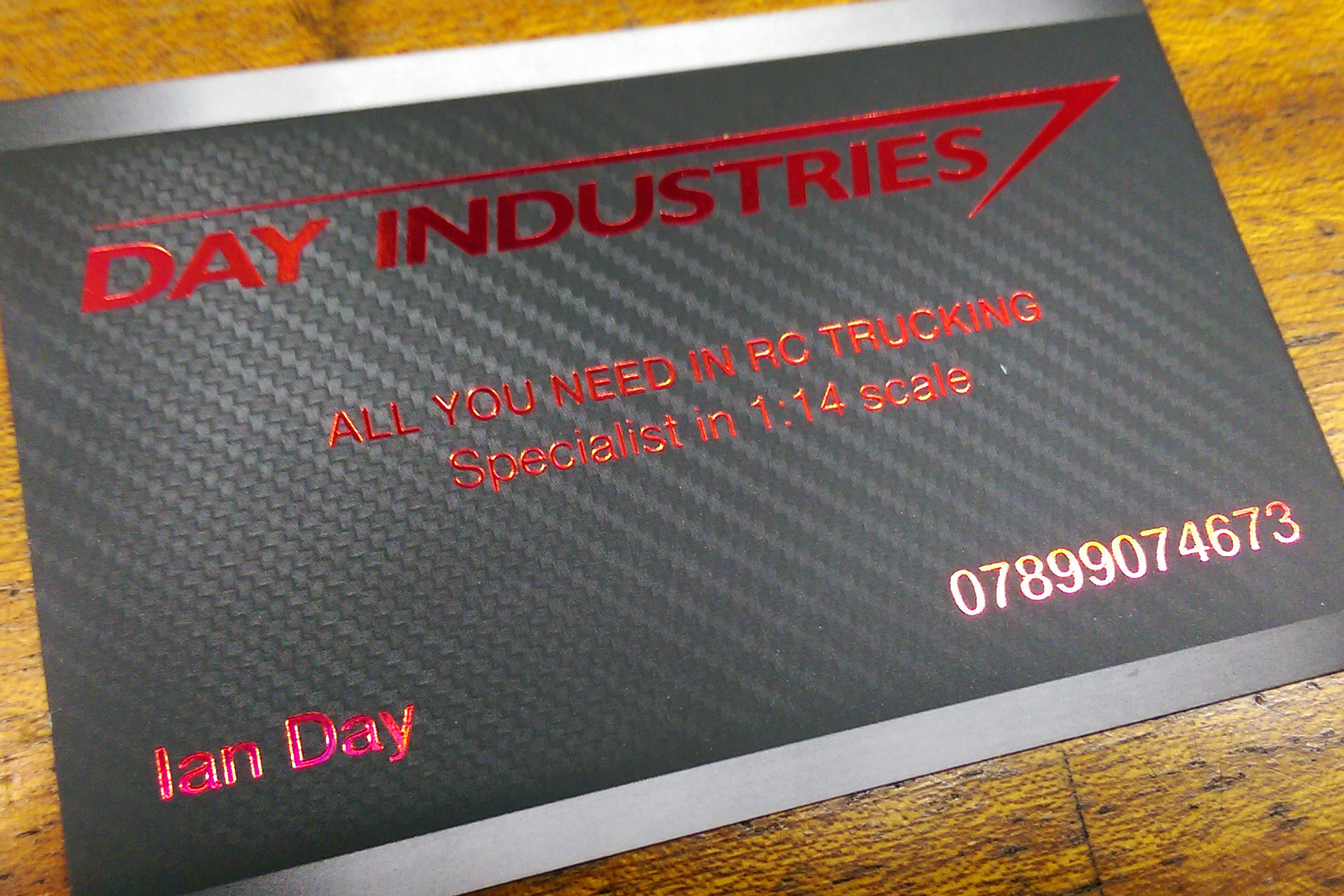 foil blocked matt laminated business cards